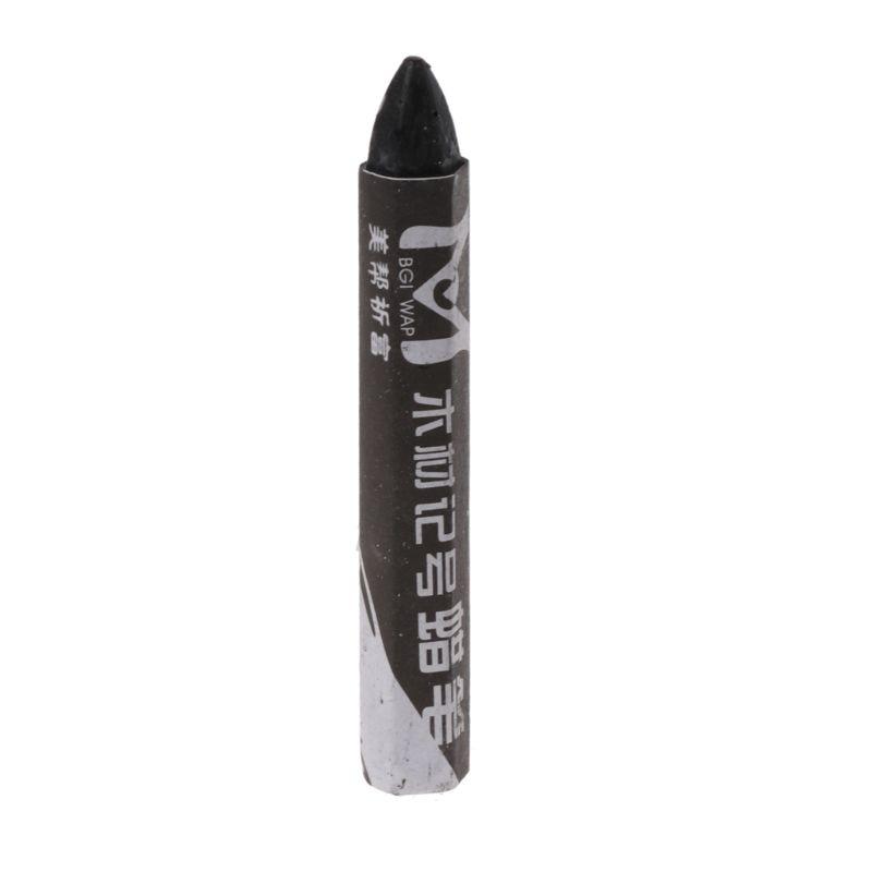 Деревянный маркер DIY спринклеры водонепроницаемый карандаш маркировки тире ручка для деревообработки - Цвет: Черный