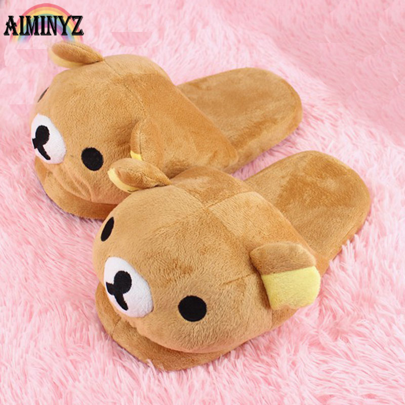 Room Slippers Easybear Chausson Furry Shoes Fur Children Slipper Plush Women Slippers Home Slipper Shoes Female Fur Shoe Indoor flat fur women slippers 2017 fashion leisure open toe women indoor slippers fur high quality soft plush lady furry slippers