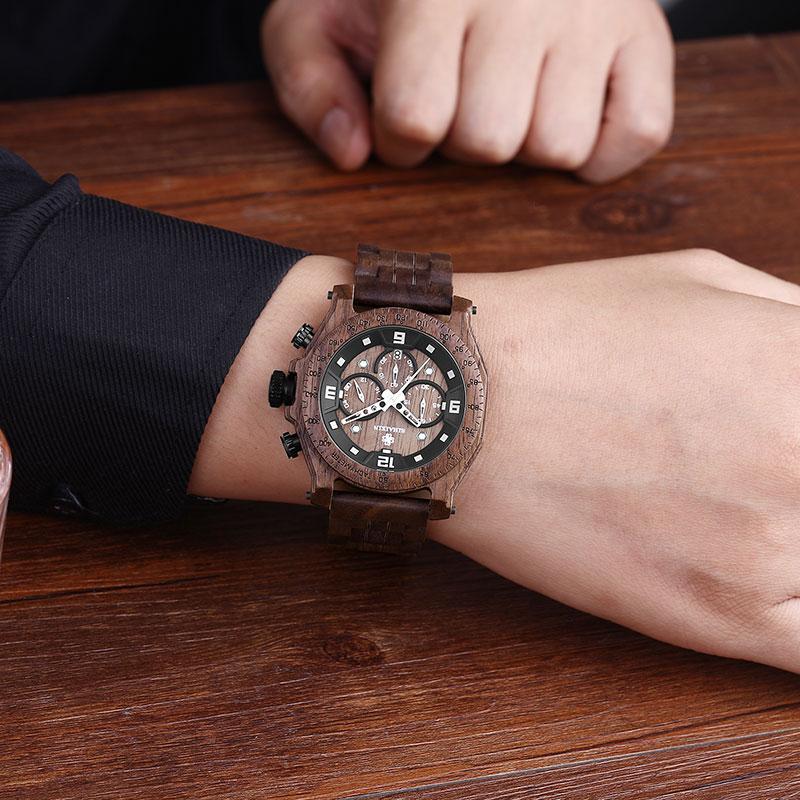 wooden watch man 10