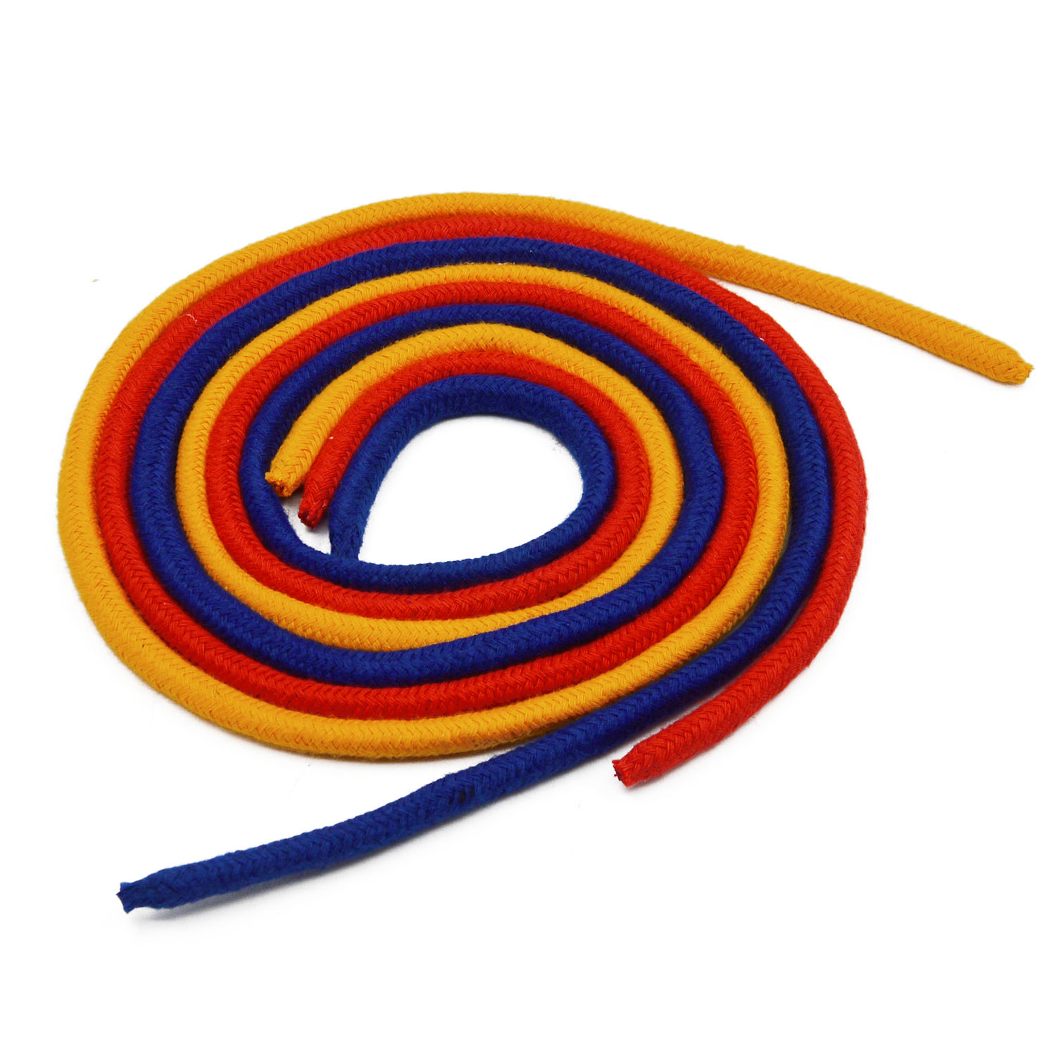 Three Strings Linking Ropes Magic Trick Magic Close-up Performance Accessories Red&Yellow& Blue Rope Props Magic Tricks Tool Toy