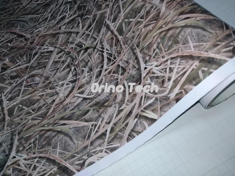 Sombra Grama Realtree Camuflagem Vinyl Film Enrole Com Bolha de Ar Livre Filme Folha de Caminhão Do Carro Do Corpo de Moto Adesivo Decalque - 4