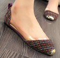 Freeshipping Best Selling Korean Stylish Fashionable Sweet Transparent Cutouts Square Toe Flat Shoes 4 Colors EUR35-39 ML923