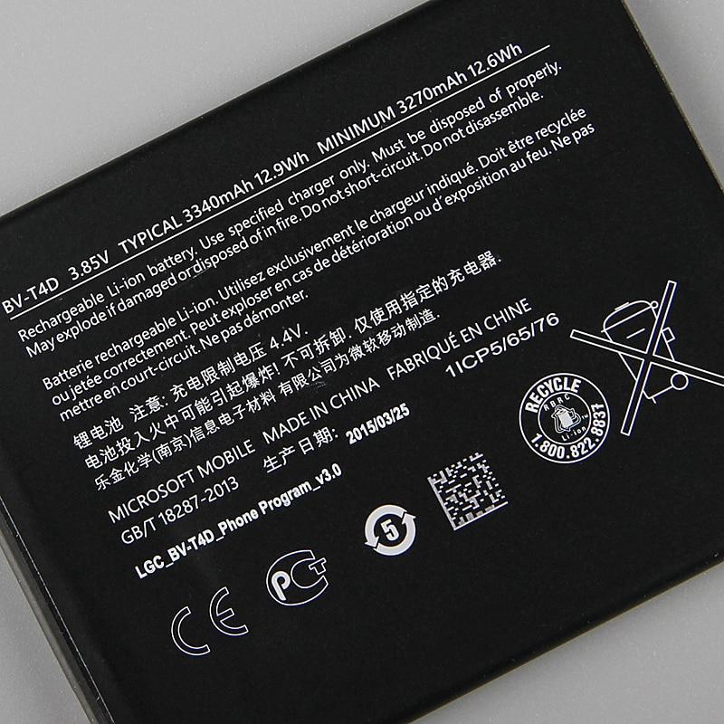 Genuine Replacement Battery BV T4D For Microsoft Lumia 950 XL CityMan Nokia Lumia 940 XL RM