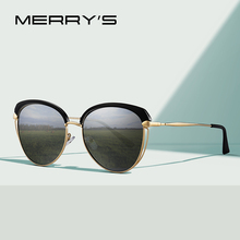 MERRYS DESIGN Women Fashion Cat Eye Polarized Sunglasses Vintage Retro Ladies Trending UV400 Protection S6292