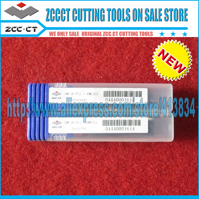 1 piece GM-2E-D12.0 GM ZCC.CT Cemented Carbide CNC 2 Flute Flattened end mill with straight shank