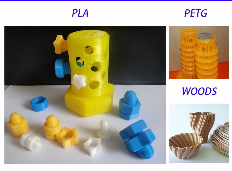 PLA PETG WOODS PRINTS