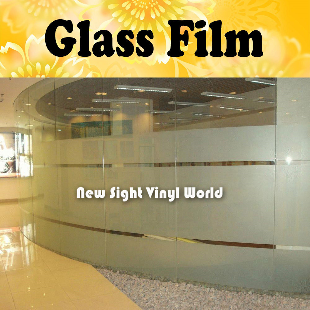 Privacy Frosted Glass Film Frosted Window Vinyl For Office Home Bathroom Size:1.2M*50M/Roll