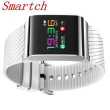 Smartch X9 Pro Цвет Экран смарт-браслет шагомер Presión arterial Смарт Спорт браслет взрослых Фитнес трекер браслет touch