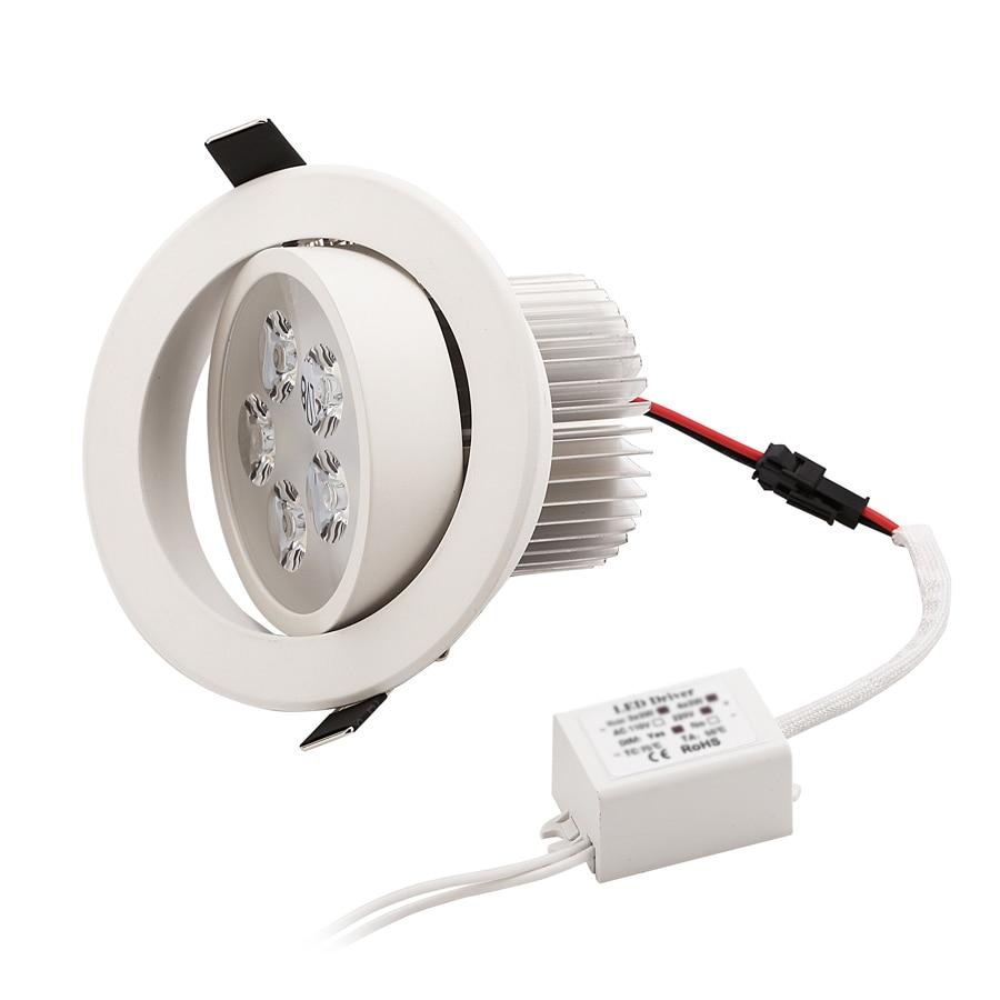 1 stks Dimbare LED Verzonken Downlight 1 W 3 W 5 W 7 W 90-770lm Cut - Binnenverlichting - Foto 5