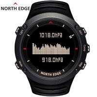 Мужские спортивные цифровые часы водостойкие армейские спортивные часы Бег Плавание высотомер барометр компас погода Северный край
