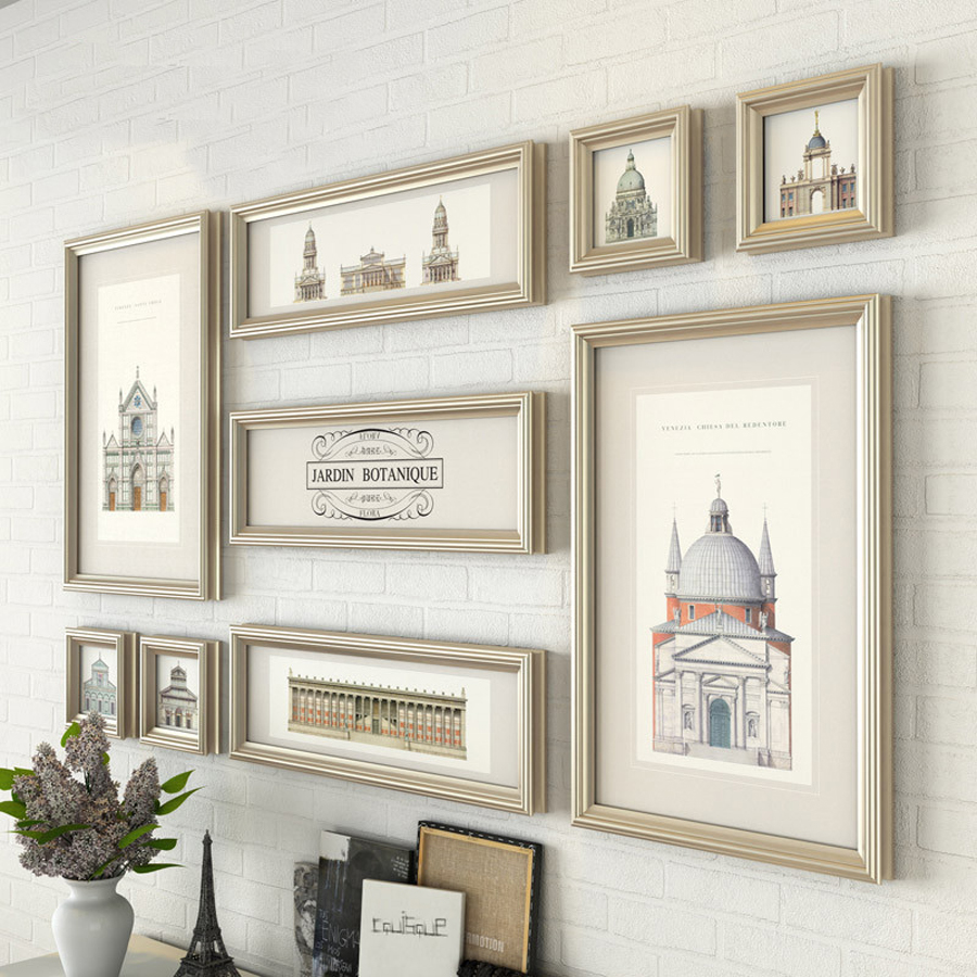 Wall Collage Frames popular large wall collage frames-buy cheap large wall collage