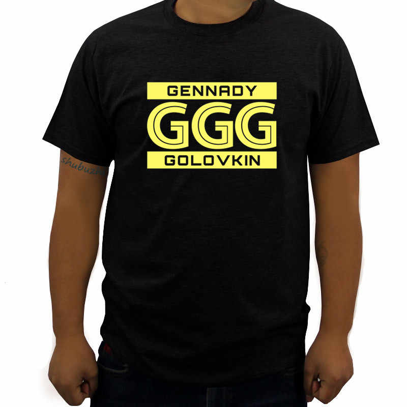 79b09f564ef561 ... summer fashion brand men t shirt Gennady Golovkin Ggg Boxer Boxer  Custom Mens T shirt cotton 100% o neck short sleeve on Aliexpress.com