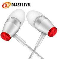 Deast level Earphones Sport fone de ouvido phone Microphone Earphone music auriculares fashion MP3 Computer Earphons Dj travel