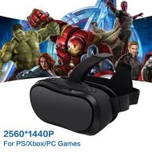 Vr коробка 3D Google Virtual PC Очки гарнитура все в одном vr для ps 4 Xbox 360/One 2 К HDMI Нибиру Android 5.1 Экран 2560*1440 p