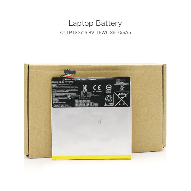 3.8V 15Wh 3910mAh C11P1327 Rechargeable Li-polymer Battery for ASUS Fonepad 7 K012 ME170C K017 Fonepad 7 FE170CG Laptop
