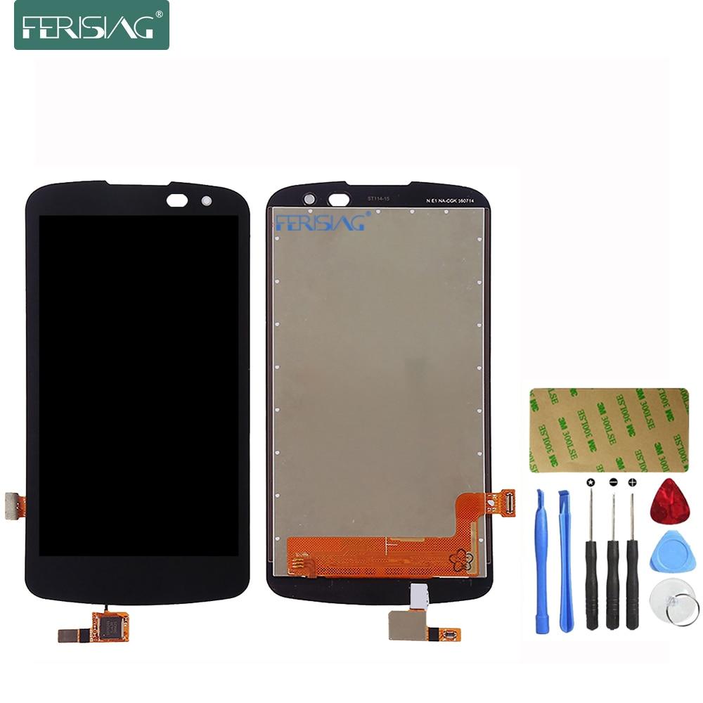 imágenes para Pantalla LCD Para LG K4 Ferising LTE K120AR K120E K120 (Sola tarjeta) de Reemplazo de Pantalla Táctil Digitalizador Asamblea + Kit de herramientas