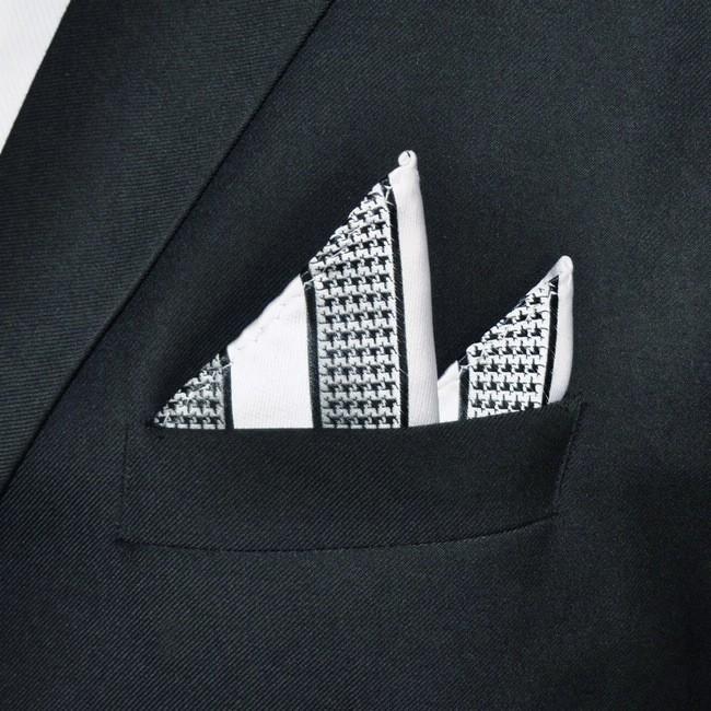 HTB1TJAuNpXXXXbhXVXXq6xXFXXX6 - Stylish Houndstooth Pattern Handkerchief