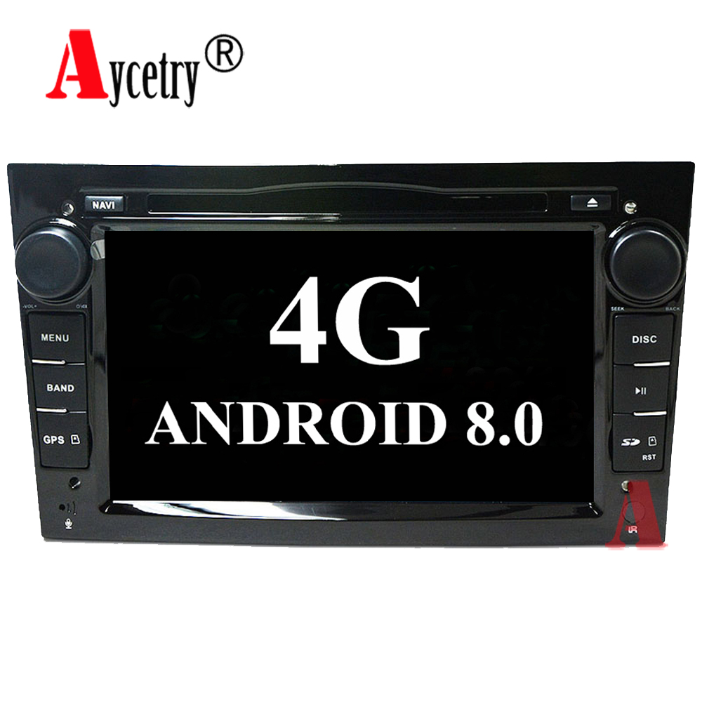 Aycetry!RAM 4G Octa 8 Core Android 8.0 2 DIN Car DVD ...