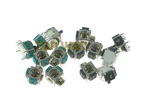 Image 2 - 60pcs/lot Controller 3D Analog Stick Sensor Module Joystick Potentiometer For PS2 XBOX360 ALPS For XBOX 360 OEM