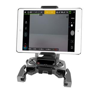 Image 4 - DJI שלט רחוק מחזיק סוגר טלפון לוח קדמי סוגר בעל לdji Mavic 2 פרו DJI Mavic אוויר ניצוץ הר קליפ עבור Pad