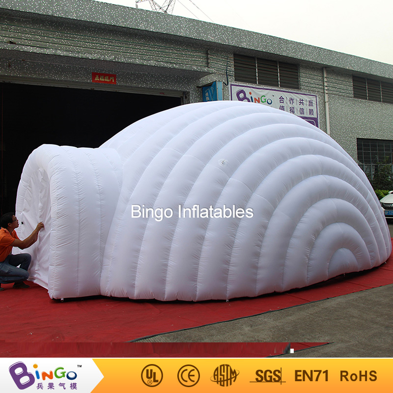2016 Outdoor inflatable igloo tent, white inflatable shell tent,inflatable air dome-BINGO factory direct sale BG-A1191 toy tent 2016 outdoor inflatable igloo tent white inflatable shell tent inflatable air dome bingo factory direct sale bg a1191 toy tent