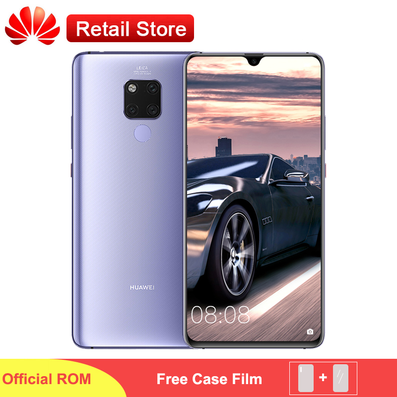 Huawei Mate 20 X 4G Smartphone 7 2 Full Screen 2244x1080 Kirin 980 Octa Core Android