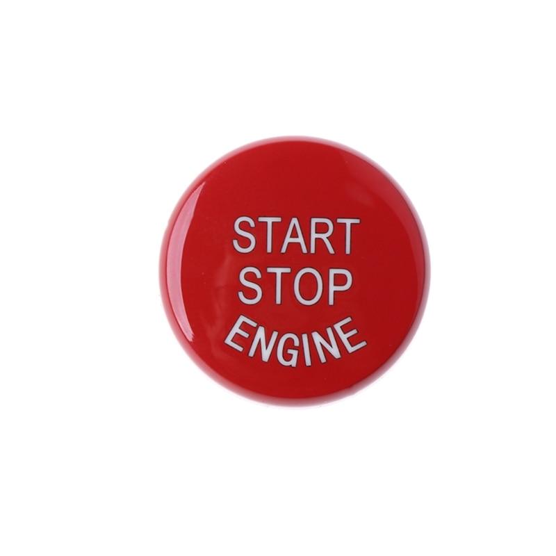 Red Start Stop Engine Switch Button Cover For BMW 1 2 3 5 6 7 Series X1 X3 X5 X6 автомобильная ключница huazun x1 x3 x5 x6 bmw 1 3 5