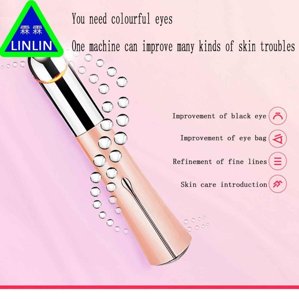 цена на LINLIN Beautiful eye pen Eye cream introduction instrument Electronic beauty instrument Beauty Eyer Vibrate eye massager