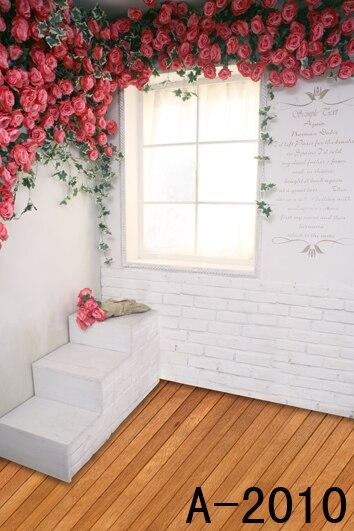 free 10x10ft wooden floor flower wedding backgrounds vinyl