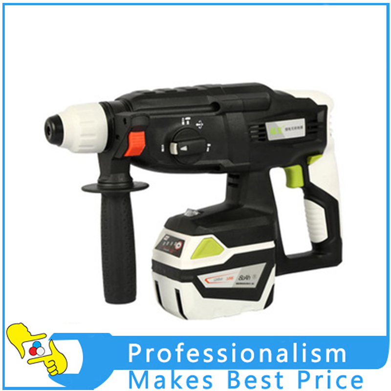 Rechargeable Lithium Multi-function Hammer Brushless Electric Drill Electric Impact Drill Power Tools High Power dongcheng 220v 1010w electric impact drill darbeli matkap power drill stirring drilling 360 degree rotation power tools