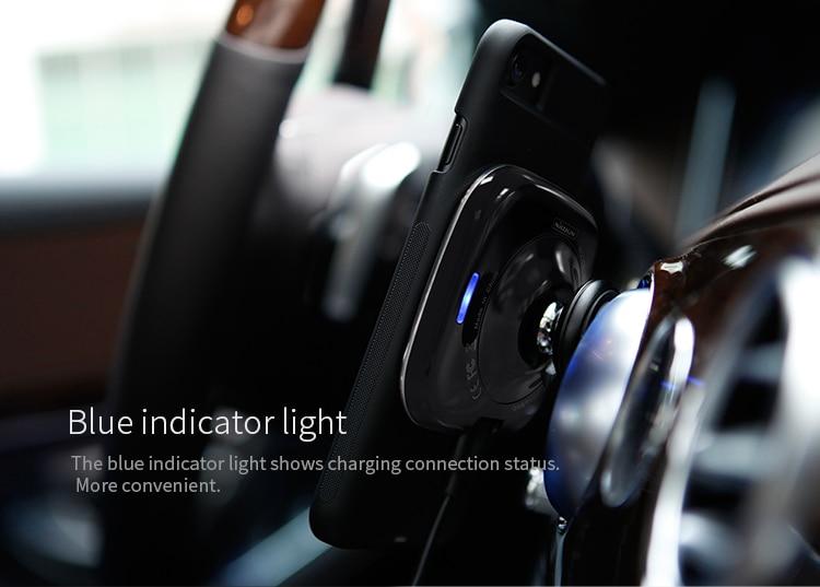 Nillkin автомобиль QI Беспроводное - Аксессуары и запчасти для мобильных телефонов - Фотография 5