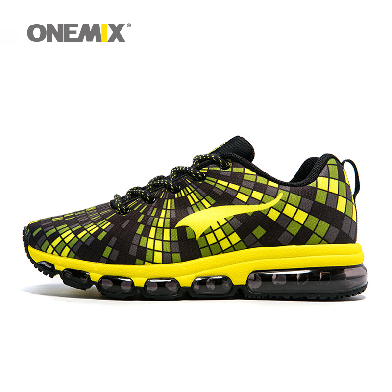 Onemix Men Running Shoes Elastic Female Sport Sneaker Lightweight Couple Athletic Shoes chaussures hommes Unisex Adult shoes 2017brand sport mesh men running shoes athletic sneakers air breath increased within zapatillas deportivas trainers couple shoes