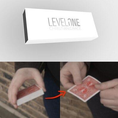 Nível Um (Truques e Instruções Online) por Christian Graça Cartão Truques de Mágica Ilusões Close up Magic trucos de magia Engraçado