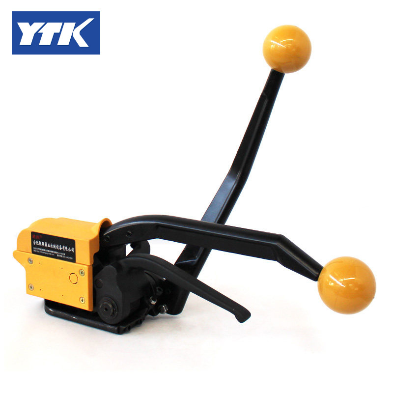 YTK A333 manual sealless steel strapping tool,packing machine for 13-19mm steel strap цена