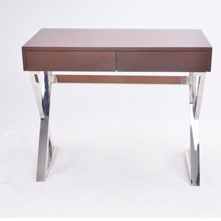 Days Of Solid Wood Furniture Stainless Steel Desk Student Desk