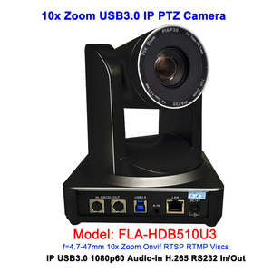 2MP 1080P 50/60 USB 3.0 Broadcasting Video Conference Camera Onvif with IP RJ45 Output|Surveillance Cameras| |  -