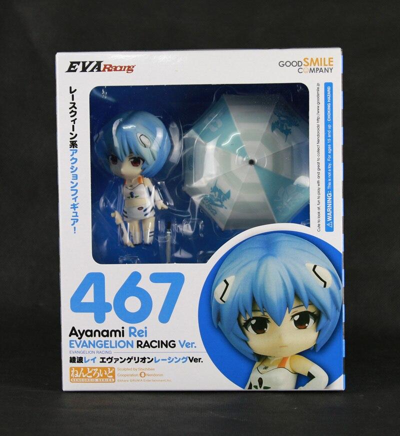 Новый Goodsmile Evangelion EVA гонки 467 Ayanami Rei Nendoroid фигурку