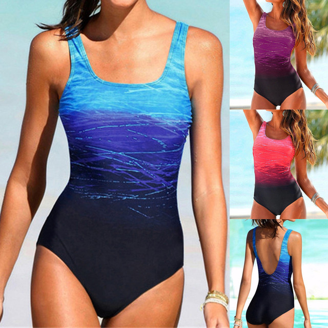 6bfafa5334 US $4.69 28% OFF|2019 Womens Swimming Costume Padded Swimsuit Monokini Push  Up Bikini Sets Swimwear Bikini Suit Swimsuit bathing suit bikini set-in ...