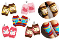 Stylish 2 Pair / lot New Kid Baby Crawling Knee Pad Toddler Elbow Pads leg warmers baby kneecap toddler leg warmers