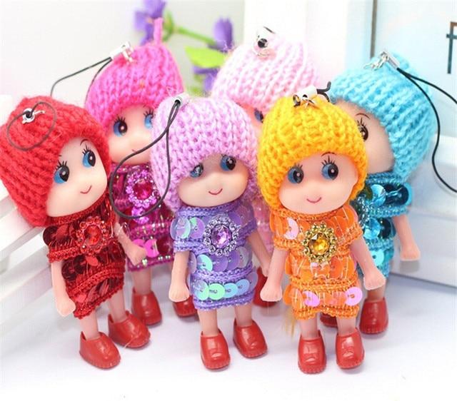 8 CM For Girls boys Dolls & Stuffed Toys 1pcs 2019 NEW Kids Toys Soft Interactive Baby Dolls Toy Mini Doll