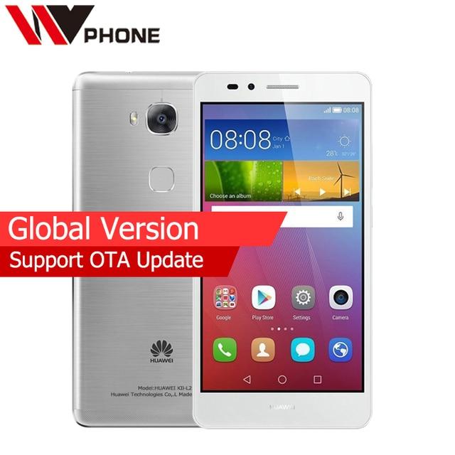 Original Huawei GR5 Global Version 2G RAM 16G ROM 4G Mobile Phone MSM8939 Octa Core Rear 13.0MP 3000mAh Fingerprint ID