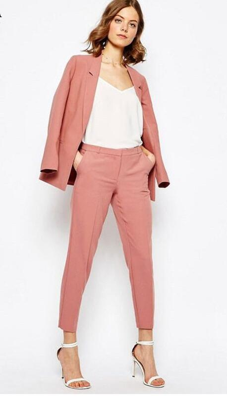 Formale Sera Pulsante brown Blazer Grey Donne Donna As Di Uniforme Nero il  Shown Un Pantaloni ... f021e6f1b02