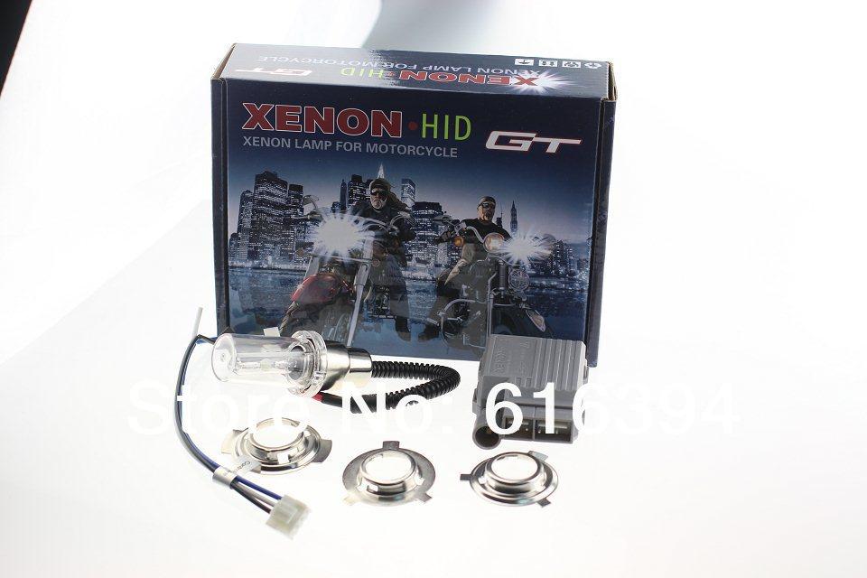 купить High intensity discharge Motor/Motorcycle Bike Hid Lights Kit H6 Hi/Low Xenon Bulbs 2600lm 12V 35W 6000K Freeshipping AAA недорого