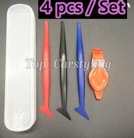 2018 New squeegee Kits applicator Soft and hard Scraper Edge parts Installation Best Car wrap Tools spatulas WRAPSKIN