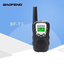 2pcs baofeng φορητό ραδιόφωνο μίνι ραδιόφωνο bf-t3 2w uhf 462-467 mhz ασύρματο ραδιόφωνο για παιδιά ασύρματο δώρο Χριστουγέννων
