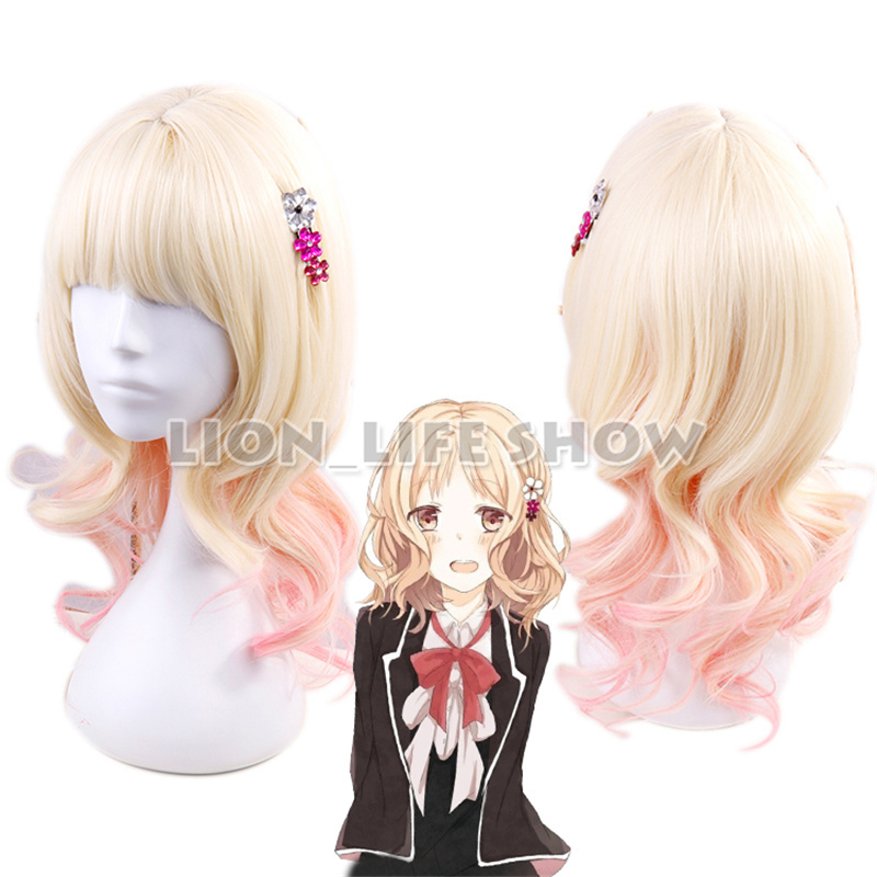Diabolik lovers Komori Yui Cute Cosplay Hairpin Hair Clip Hand-made 1pc