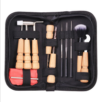 Professional Instruments Winder With Bag Wrench String Wiping Cloth Maintenance Accessories Repair Kit Guitar Tool Sets Nut