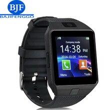 Bluetooth smart watch para el teléfono android soporte sim podómetro gprs usable reloj inteligente reloj de pulsera del deporte pk gt08