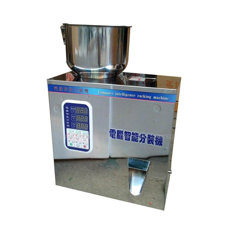2pcs lot 1 50g Tea Packaging Filling font b Machine b font Automatic Weighing Granule Medlar