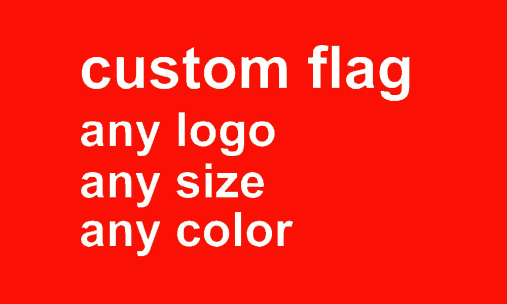 custom flag any size company advertisement flags and banners 5x8 FT, free shipping